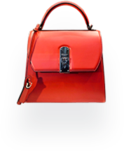 Cherry Red Fashion Bag